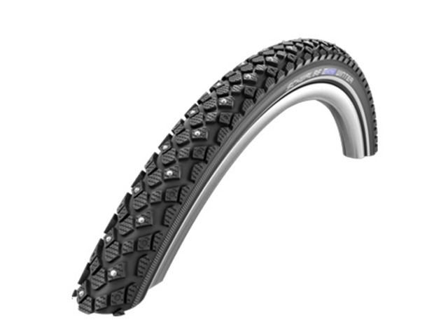 "SCHWALBE Winter Wired-on Tire 16"" Active Line KevlerGuard, black"
